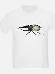 Scarab Hercules Beetle (Front) Kids T-Shirt