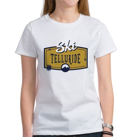 Ski Telluride Patch Women's T-Shirt