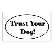 Tracking Decal - Trust Your Dog! Decal