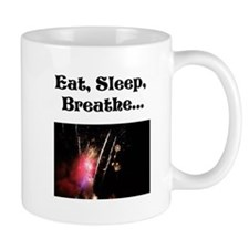 Eat Sleep Breathe Fireworks Mug