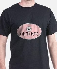 Crested Butte Retro Patch T-Shirt