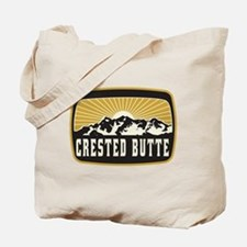 Crested Butte Sunshine Patch Tote Bag
