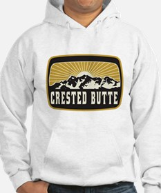 Crested Butte Sunshine Patch Hoodie