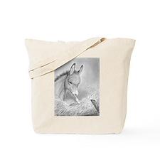 Baby Jesus Blessing Donkey ~ Tote Bag