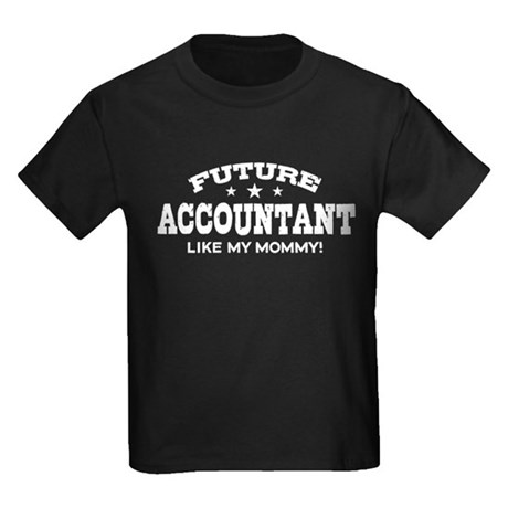 Future Account Like My Mommy Kids Dark T-Shirt