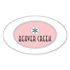 Beaver Creek Retro Patch Decal