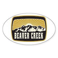 Beaver Creek Sunshine Patch Decal