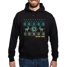 Beaver Creek Blue Winter Sweater Hoodie