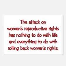 Attack on Women's Rights Postcards (Package of 8)