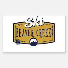 Ski Beaver Creek Patch Decal