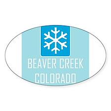 Beaver Creek Snowflake Decal