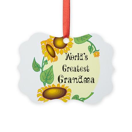 Worlds Greatest Grandma Picture Ornament