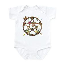 """""""Living Pentagram"""" Infant Creeper"""
