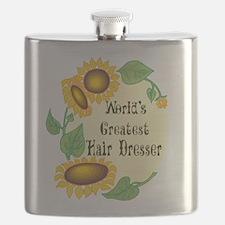 Worlds Greatest Hair Dresser Flask