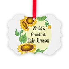 Worlds Greatest Hair Dresser Ornament