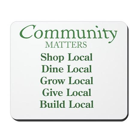 Community Matters Mousepad