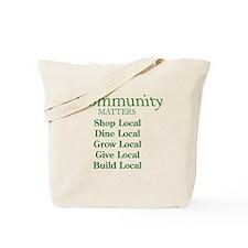 Community Matters Tote Bag