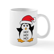 Cute Christmas Penguin Ho Ho Ho Mug