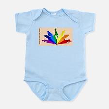 Thinks Outside the Binder- Long Infant Bodysuit