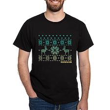 Snowmass Blue Winter Sweater T-Shirt