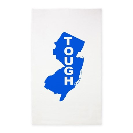 New jersey Strong 3'x5' Area Rug