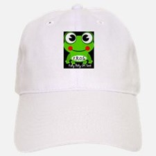 Cute Cartoon Frog Fully Rely On God F.R.O.G. Baseball Baseball Cap