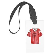 Soccer Jersey Luggage Tag
