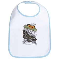 Colorful Moth Insects Bib
