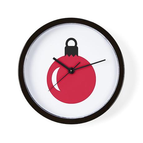 Christmas ball ornament Wall Clock
