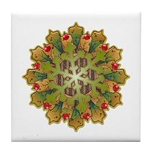 Holiday Snowflake Tile Coaster
