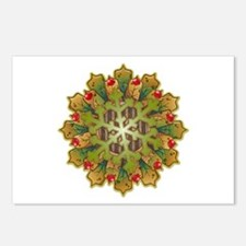 Holiday Snowflake Postcards (Package of 8)