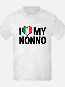 I Love My Nonno T-Shirt
