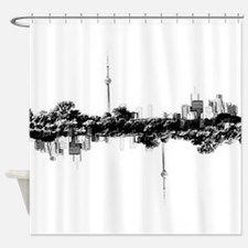 Toronto Reflection Shower Curtain