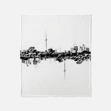 Toronto Reflection Throw Blanket