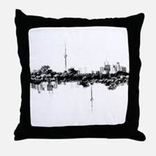 Toronto Reflection Throw Pillow
