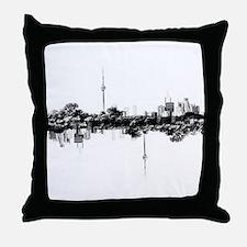 Toronto Reflection Throw Pillow