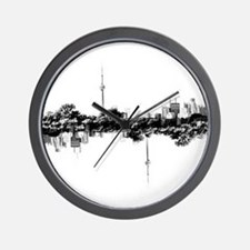 Toronto Reflection Wall Clock