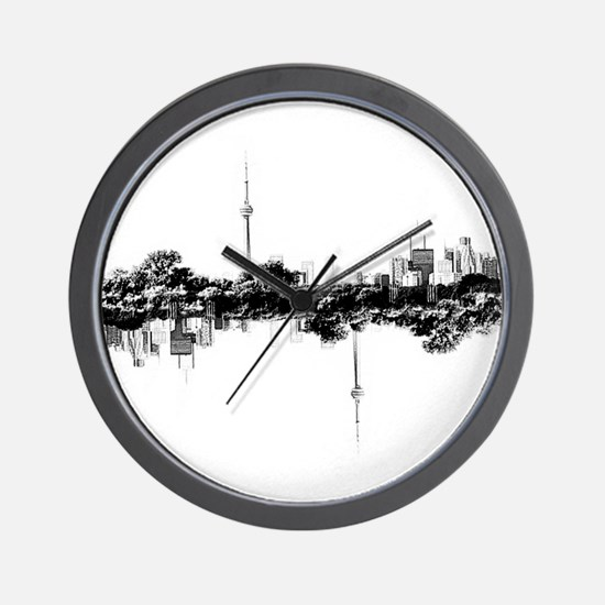 Toronto Reflection Wall Clock
