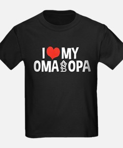 I Love My Oma and Opa T