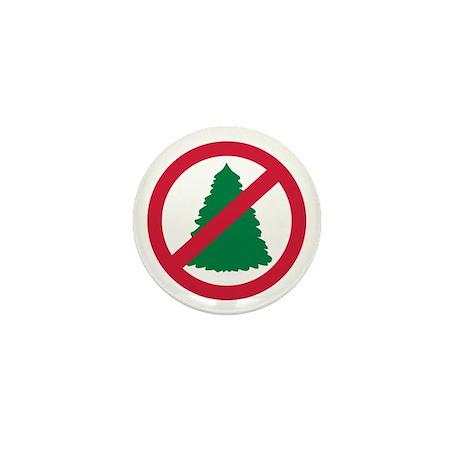 No christmas Mini Button