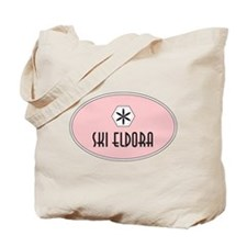 Eldora Retro Patch Tote Bag