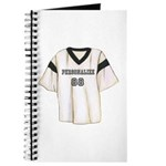 Personalized Sports Jersey Journal