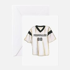 Personalized Sports Jersey Greeting Card