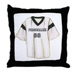 Personalized Sports Jersey Throw Pillow