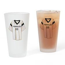Personalized Sports Jersey Drinking Glass