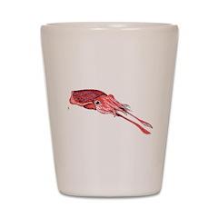 digital cuttlefish.jpeg Shot Glass