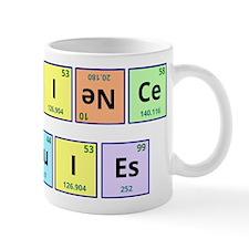 Science Rules Small Mug