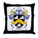 Dunse Coat of Arms Throw Pillow