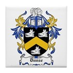 Dunse Coat of Arms Tile Coaster
