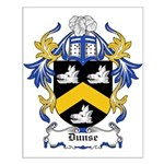 Dunse Coat of Arms Small Poster